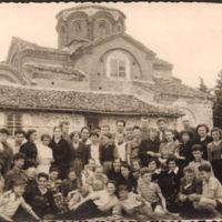 Ispred Crkve sv. Klimenta, Ohrid
