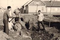 Postavljanje kaldrme u Kovačici